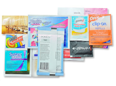 Specialty Towelettes - Packaging Group Corp